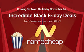 namecheap black friday deal domain and hosting discount coupon