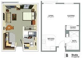 Efficiency Home Plans Luxury Studio Apartment Floor Plans Small Efficiency Apartment