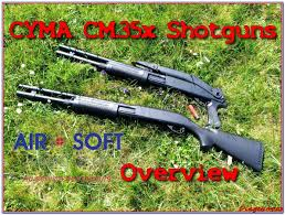 airsoft présentation gamme cyma cm 35x shotgun eng subs