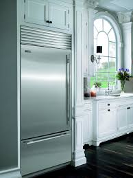 Inset Kitchen Cabinet Doors by Built In Refrigerator Differences Momentum Construction