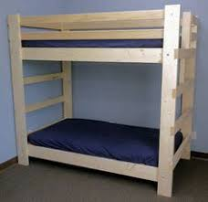 custom built queen over queen bunk beds by francis lofts lake