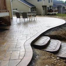 Concrete Ideas For Backyard 56 Best Pool Ideas Images On Pinterest Stamped Concrete Patios