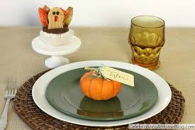 thanksgiving place setting 5 simple elements celebrations at home