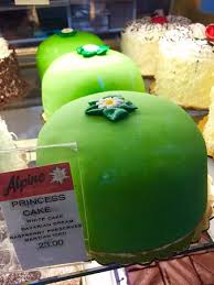 princess cakes are a favorite picture of alpine pastry and