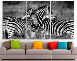 zebra wall decor etsy