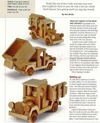 Instructions Build Wooden Toy Truck by Wooden Toy Truck Plans U2022 Woodarchivist