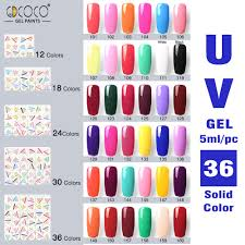 aliexpress com buy gdcoco 18 colors 5ml painting gel kit 20201