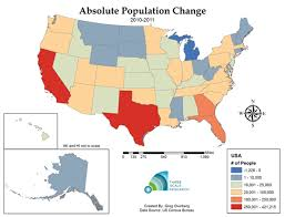 united states population map list of us states and territories by population region