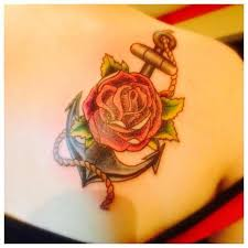 anchor and by joshua nordstrom tattoonow