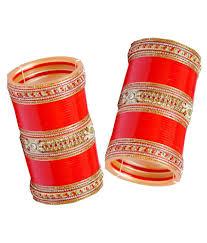 Wedding Chura Online Vivah Bridal Chura Red And Golden Bridal Chura Buy Vivah Bridal