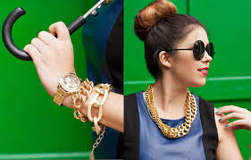 chain necklace diy images My diy double chain necklace jpg