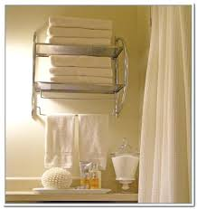 bathroom towel storage wall mounted mahogany hanging towel rack