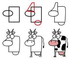 cute cartoon cow coloring page hm coloring pages clip art library