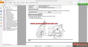 honda varioclick 125 fi scooter 2012 service manual auto repair