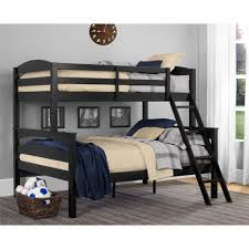 Kids Bunk Beds Twin Over Full by Dorel Living Dorel Living Brady Twin Over Full Bunk Bed Black