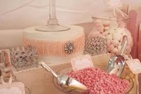 Pink Wedding Candy Buffet a vintage pink wedding candy buffet by any occasion events paperblog