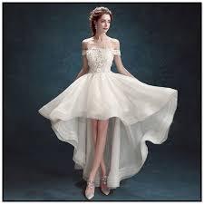 Short White Wedding Dresses Short Off White Wedding Dresses Tbrb Info