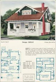 Bungalow Craftsman House Plans The Pasadena 1922 Lewis Manufacturing Company