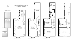 floor plan area calculator 3 bedroom property for sale in clifton place brighton bn1
