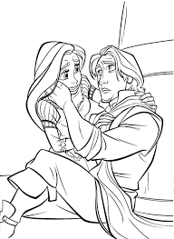 princes coloring pages tangled eliolera com