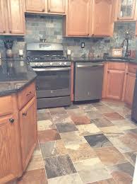 slate backsplash tiles for kitchen porcelain slate tile kitchen