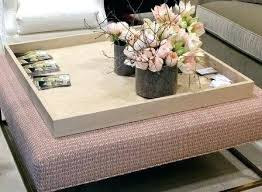 extra large ottoman coffee table fashionable large ottoman tray extra large ottoman coffee table