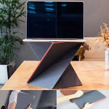 waterproof portable folding standing desk laptop stand