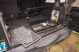 warrior products tailgate table storage trucks u0026 guns media