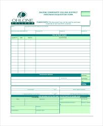 requisition form example