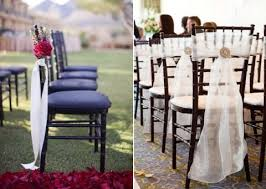 chair ribbons 53 cool wedding chair decor ideas with fabric and ribbon