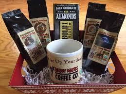 coffee gift basket the taste of muddy waters organic coffee gift basket muddy