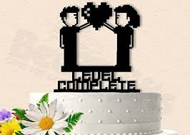 gamer cake topper gamer wedding cake toppers shop gamer wedding cake toppers online