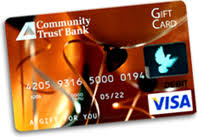 bank gift cards personal card services community trust bank