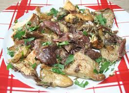 cuisiner pieds de mouton effiloché de canard aux pieds de mouton et pleurotes amafacon