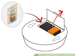 how to change the batteries in your smoke detector 15 steps