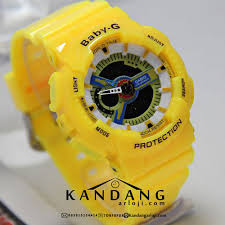 Jam Tangan Baby G Warna Merah jam tangan baby g ba110 kuning murah kw1