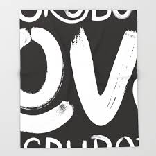 Culpeper Minutemen Flag Black White Political And Typography Throw Blankets Society6