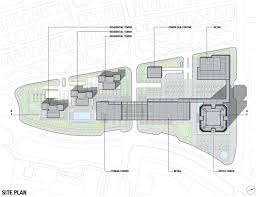 china merchants tower u0026 woods park master plan on architizer