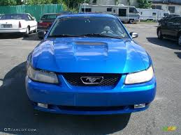 2000 blue mustang 2000 bright atlantic blue metallic ford mustang v6 coupe 12956480