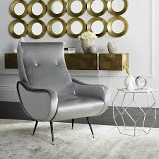 Retro Accent Chair Fox6260a Accent Chairs Furniture By Safavieh