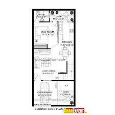 house plan for 20 feet by 45 feet plot plot size 100 square yards