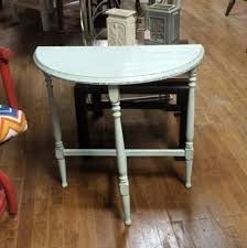 Antique Accent Table Attractive Painted Accent Table Vintage Painted L Table
