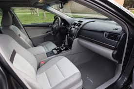 Toyota Camry 2013 Interior Used Toyota Camry 2012 2014 Expert Review