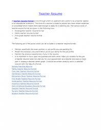 100 education resume format teacher resume sample u0026