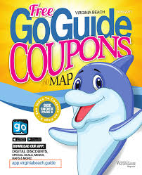 Virginia Beach Maps by Virginia Beach Goguide Coupons U0026 Map Book 2016 2017 By