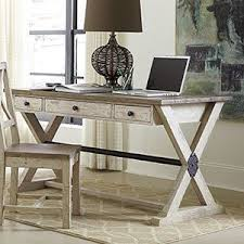 reclaimed wood writing desk this collection holds true to the style by combining repurposed