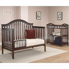 sb2 by sorelle lynn 4 in 1 convertible crib with mini rail in