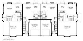 Multi Family Home Floor Plans Stylish Multi Family Dwelling House Plan Hunters