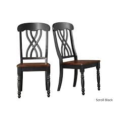 Style Chairs Mackenzie Country Style Two Tone Dining Chairs Set Of 2 By Inspire