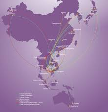 United Flight Map Flight Info Route Map Cambodia Angkor Air